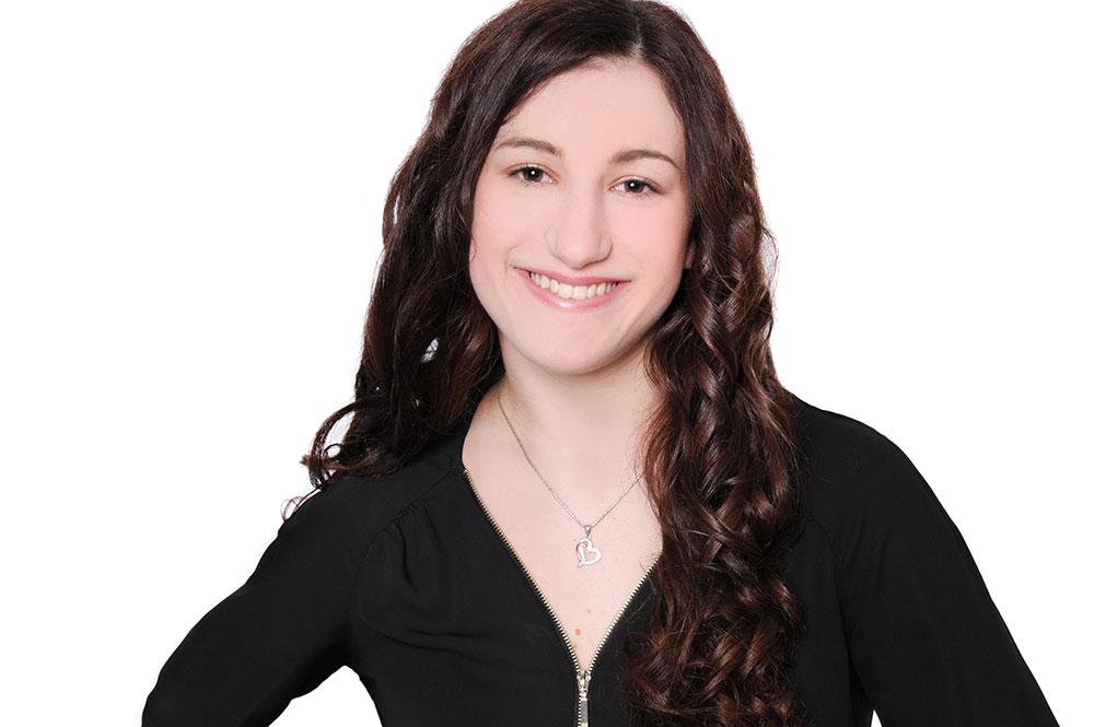Teamfoto von Caroline bei WEF Friseure
