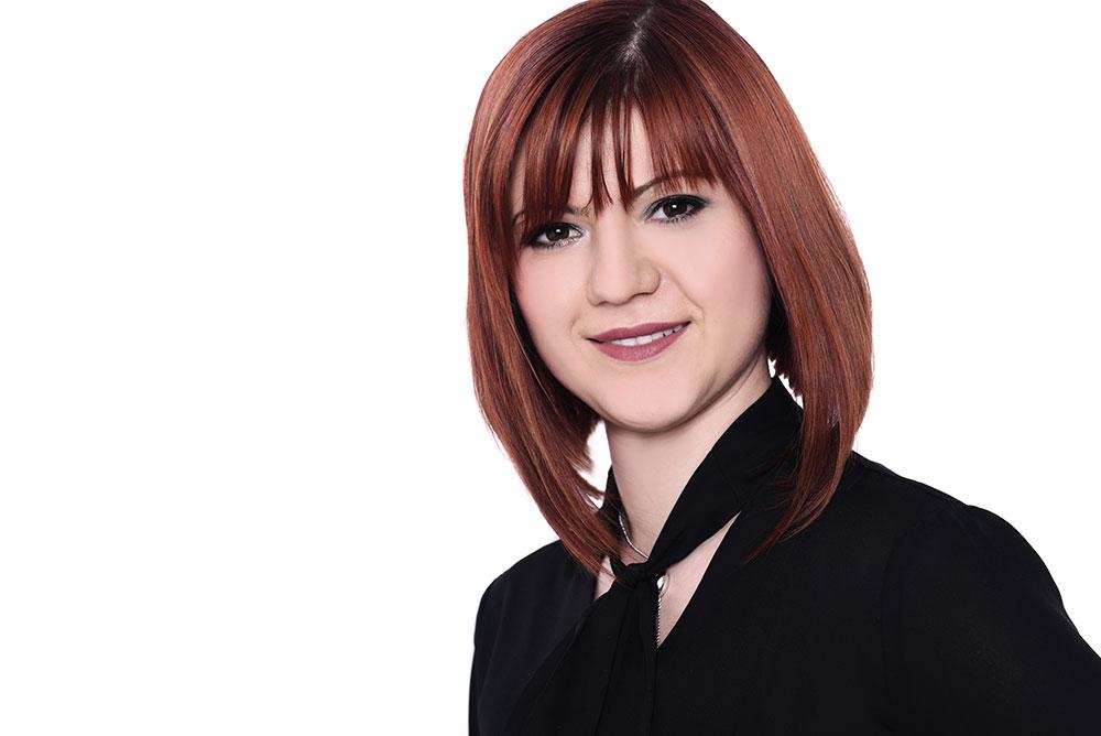 Teamfoto von Irina bei WEF Friseure