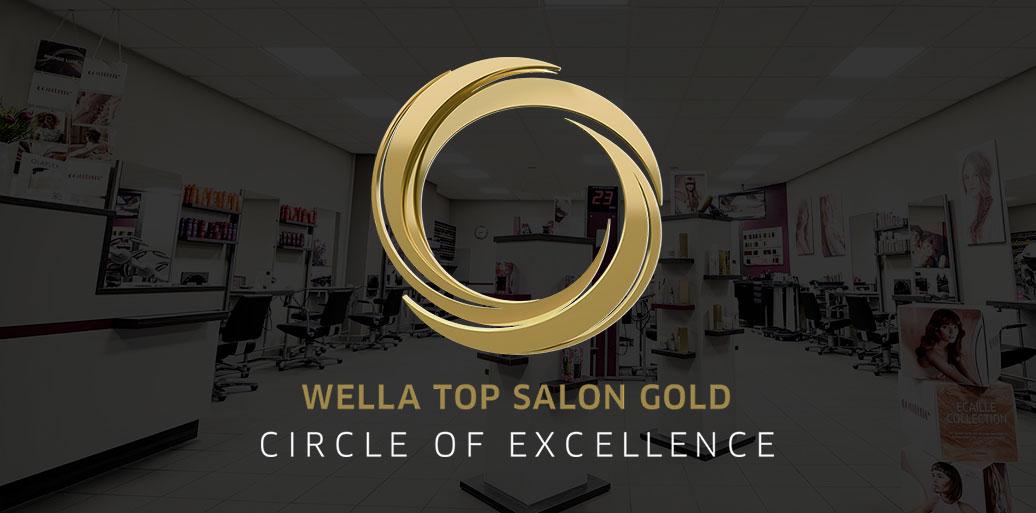 Ausgezeichnet mit dem WELLA Top Salon Gold Gütesiegel von Circle of Excellence gehört WEF Friseure by Michaela Hupertz zu den 400 Besten Salons in Deutschland.