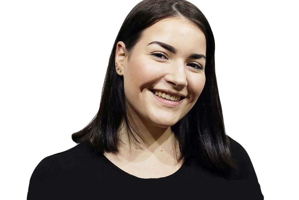 Anna Auszubildende bei WEF FRISURE in Mönchengladbach.