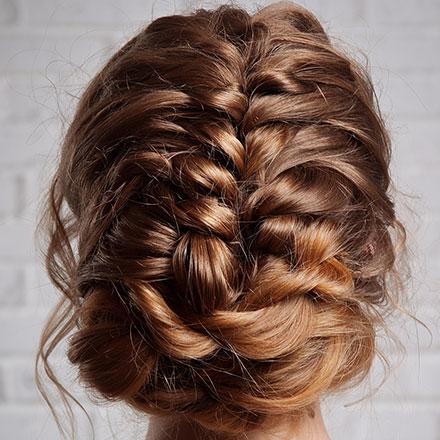 Moderne Abiball Frisur