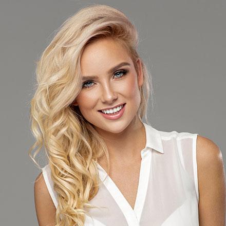 Blond Färben
