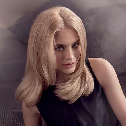 Perfektes Blond mit Wellaplex