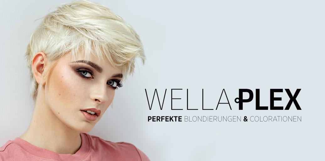 Bei kaputten und strapazierten Haaren hilft Wellaplex die Repair Behandlung von WELLA bei WEF FRISEURE in Mönchengladbach